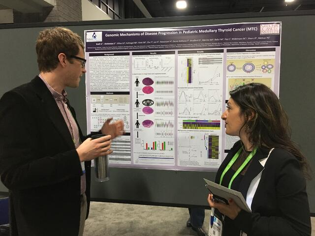 Ira Kraft, NCI, uses Nexus Copy Number 9.0 to derive CNVs from targeted panel data - AACR 2017